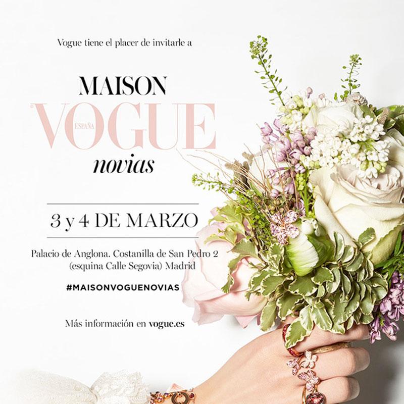 Anuncio del Maison Vogue Novias