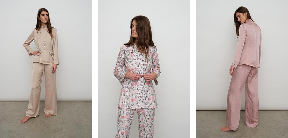 guia de regalos: Pijamas de raso Carla y pijama Carmina de flores