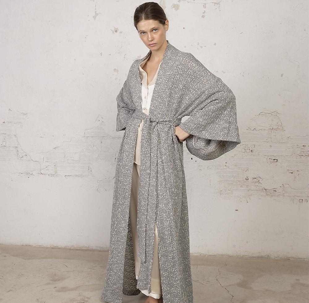 Kimono de lana